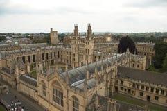 университет oxford Великобритании Стоковая Фотография