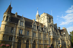 университет oxford s balliol Стоковое Фото