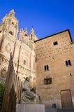 Университет Pontificia - Salamanca Стоковое Изображение RF