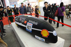 университет tongji прототипа фарфора автомобиля Стоковые Фото