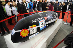 университет tongji прототипа фарфора автомобиля Стоковая Фотография RF