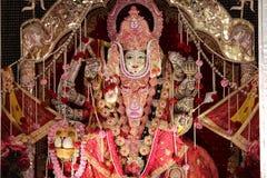Уникальное божество Hindus, украшенное с полностью возможным стоковая фотография rf