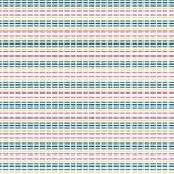 Уникально абстрактной красочной линия брошенная нашивкой родная предпосылка картины Стоковое Фото