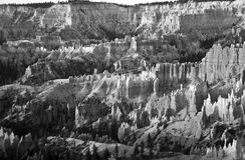 Уникально и красочные горные породы hoodoo в каньоне Bryce Стоковое фото RF
