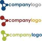 уникально логоса компании научное Стоковые Фотографии RF