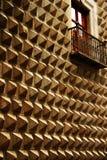 Уникально нервная архитектурноакустическая конструкция Стоковое фото RF