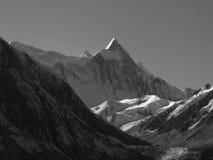 Уникально пик горы Стоковые Фотографии RF
