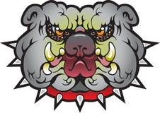 Уникально собака Bull иллюстрация штока
