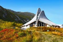 Уникально строительная конструкция, интересная архитектура Стоковое Изображение RF