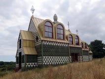 """Уникальный дом конструированный Grayson Perry для названного вымышленного персонажа """"Джулия справляется """"в e стоковые фотографии rf"""