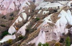 Уникально геологохимические образования в Cappadocia, Турции Стоковая Фотография