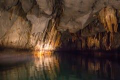 Уникально изображение Puerto Princesa подземно-минное стоковые изображения