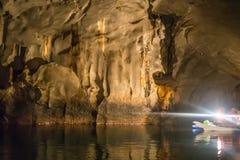 Уникально изображение Puerto Princesa подземно-минное стоковые фото