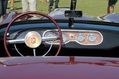 Уникально классический sportscar интерьер Стоковые Изображения RF