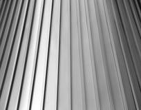 Уникально, сияющее олово, алюминиевая крыша Стоковое Изображение RF