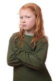 Унылая девушка стоковое изображение