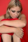 унылая женщина Стоковое Изображение RF