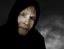 унылая женщина Стоковые Фото
