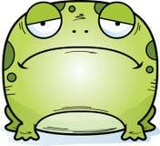 Унылая маленькая лягушка иллюстрация штока
