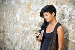 Унылая молодая женщина Стоковые Фотографии RF