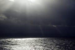 унылое море Стоковые Фото