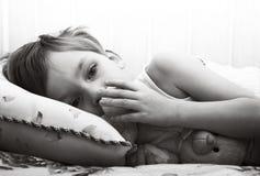 унылое ребенка сиротливое Стоковое Изображение