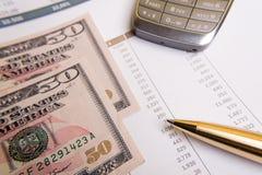 УНЫЛЫЕ банкноты Стоковое Изображение