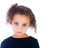 Унылый ребенок стоковые фотографии rf