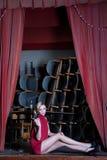 Унылая актриса Стоковая Фотография RF