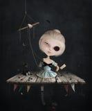 Унылая кукла Стоковые Изображения RF