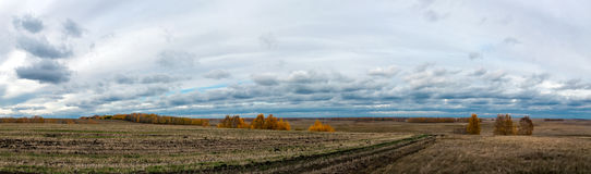 Унылая погода осени Стоковая Фотография
