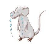 Унылая плача мышь Стоковые Изображения RF