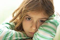 Унылый ребенок Стоковая Фотография RF