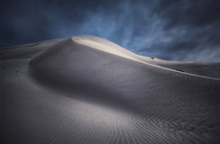 Унылая дюна Стоковое Изображение RF