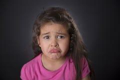 Унылые 4 года девушки Стоковые Фото