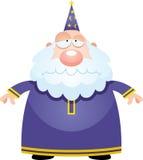 Унылый волшебник шаржа Стоковые Фотографии RF
