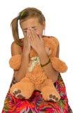 Унылый плача ребенок Стоковое Изображение