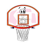 Унылый шарж обруча баскетбола Стоковые Изображения