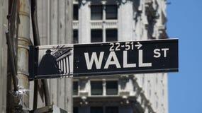 Уолл-Стрит и фондовые биржи Стоковые Фотографии RF