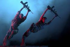 дуо танцоров самомоднейшее Стоковое Изображение