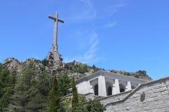 упаденная долина памятника Стоковая Фотография