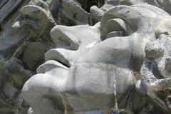 упаденная долина Стоковое Фото