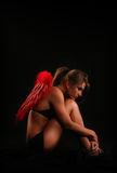 упаденный ангел Стоковое Фото
