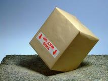 упаденный пакет Стоковые Фотографии RF