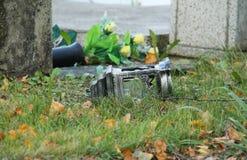 Упаденный фонарик Стоковые Фотографии RF