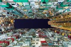 Упакованное здание в Гонконге Стоковые Фотографии RF