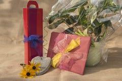 Упакованные подарки для различных случаев стоковые фото