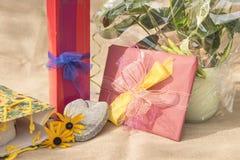 Упакованные подарки для различных случаев стоковая фотография rf