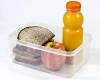 упакованный обед Стоковая Фотография