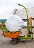 упаковка машины сена Стоковая Фотография RF